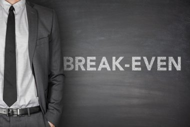 Break-even on blackboard