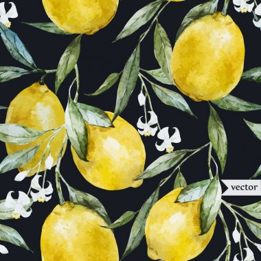 Lemon pattern8