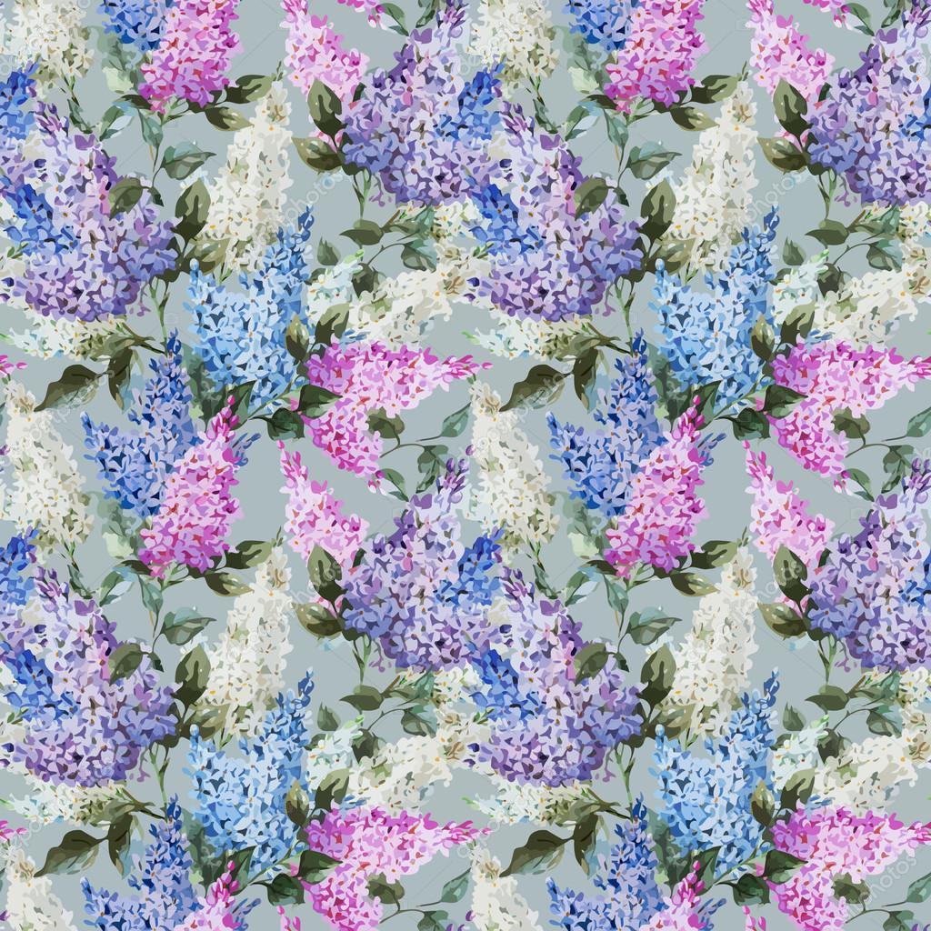 Lilac pattern