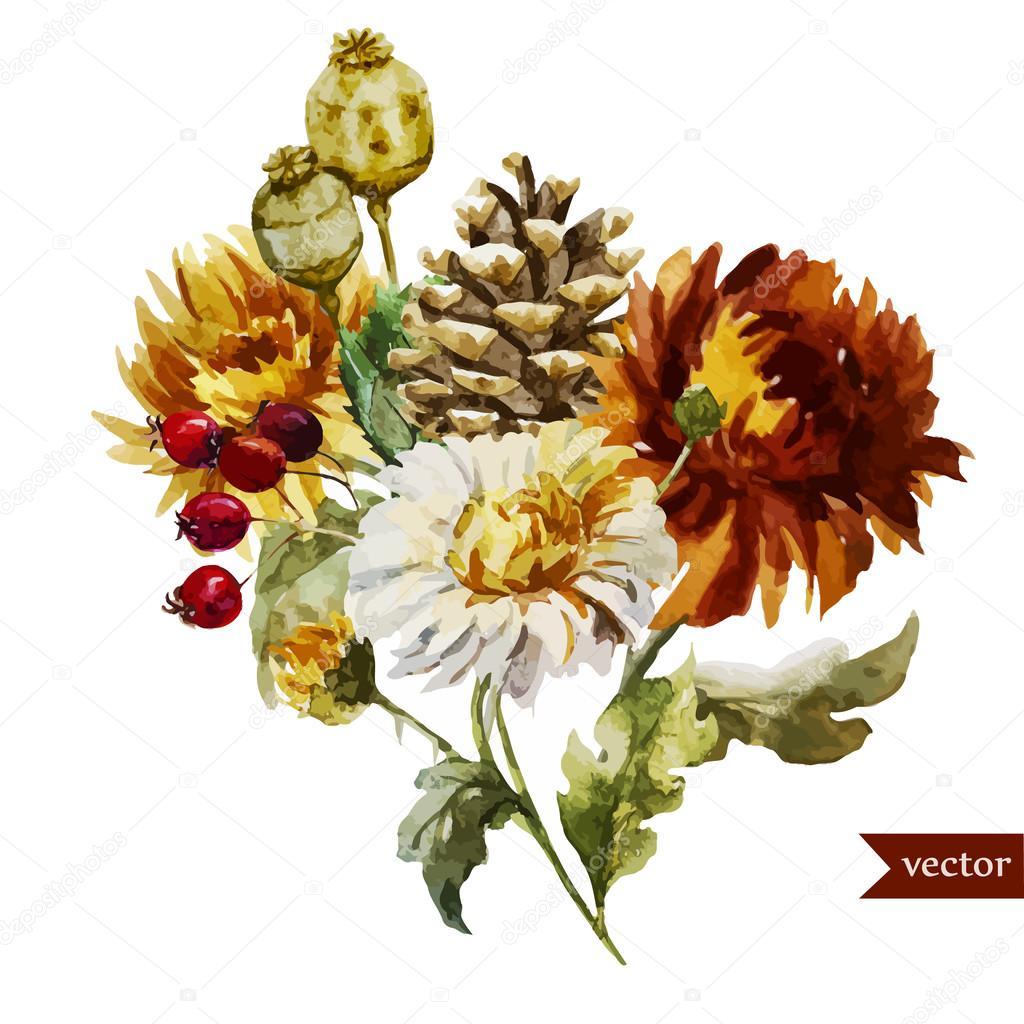 Boho flowers