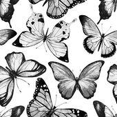 Akvarell pillangó mintás raszter