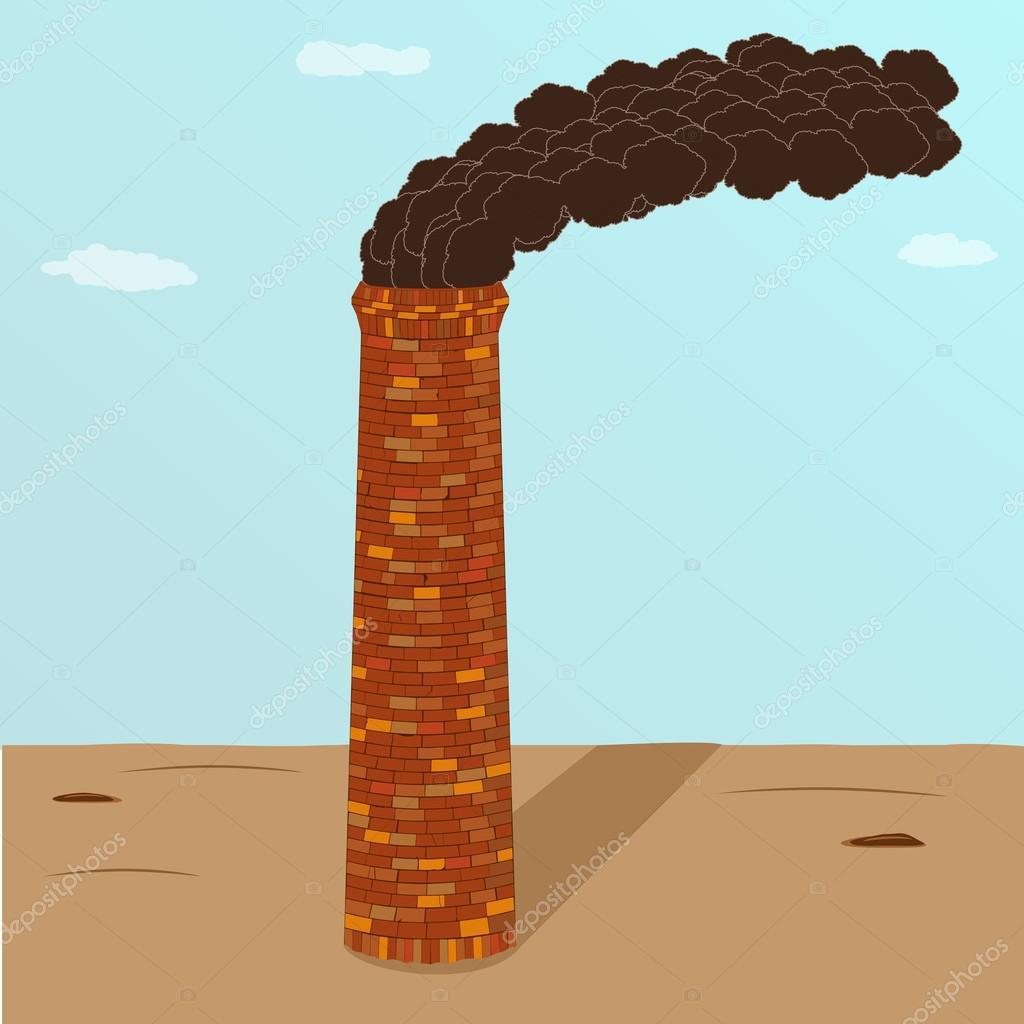 Factory brick smoking pipe