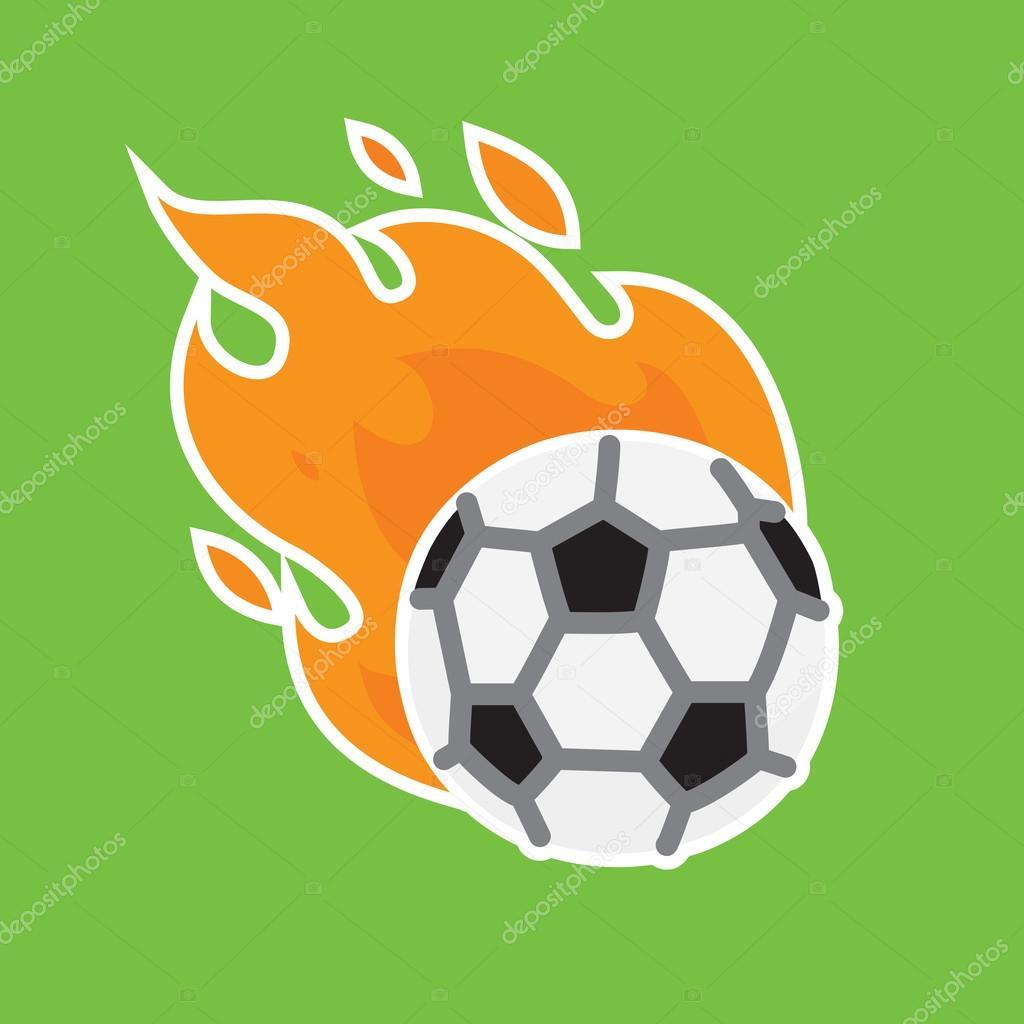Ilustración de vector de fútbol equipo icono plantilla — Archivo ...