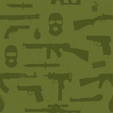 Army weapons pattern
