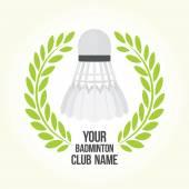 Fotografie Badminton vektorové logo klubu
