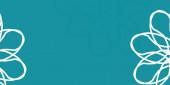 Světle modrá, zelený vektorový vzor s květinami. Přechod barevné abstraktní květiny na jednoduchém pozadí. Nejlepší design pro vaši firmu.