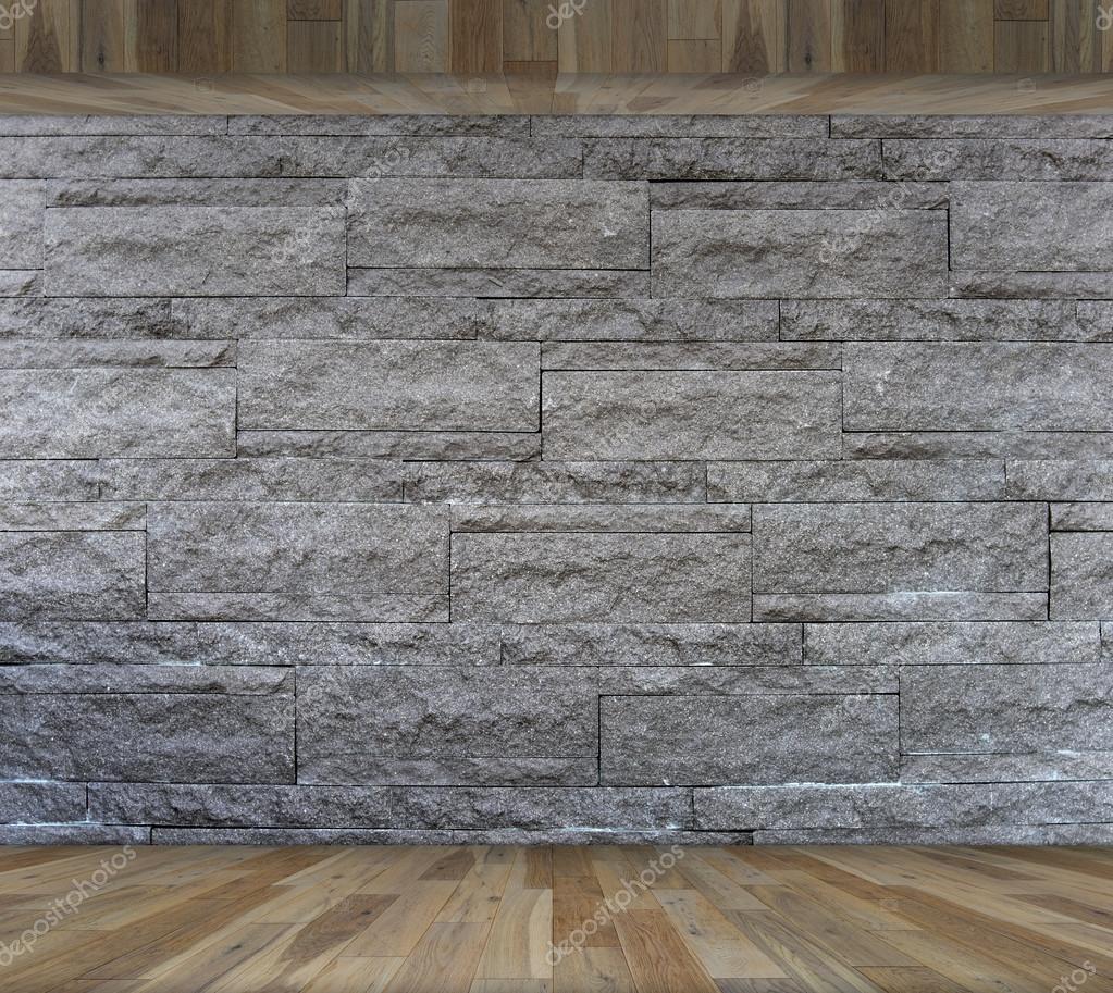pared de ladrillos decorativos de la piedra de granito interior con fondo interior suelo de madera plantilla interior para la exhibicin de productos