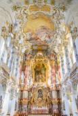 wieskirche kirche in bayern, deutschland, europa