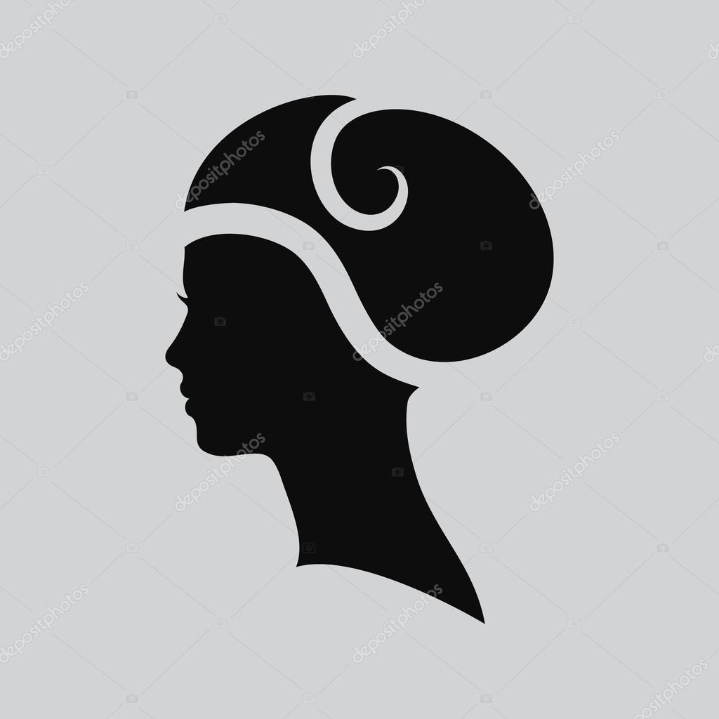 Woman face logo abstract logo profile beautiful woman portrait vector illustration of woman face logo abstract logo profile beautiful woman portrait of a girl abstract logo design template for beauty salon massage pronofoot35fo Gallery