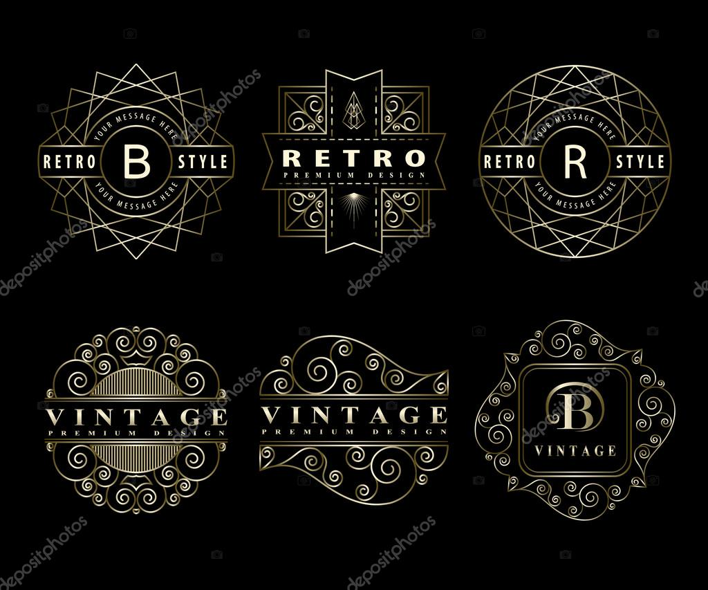 Monogram design elements graceful template calligraphic elegant calligraphic elegant line art logo design letter emblem sign b r for royalty business card boutique hotel restaurant cafe vector by fomalygaut reheart Image collections