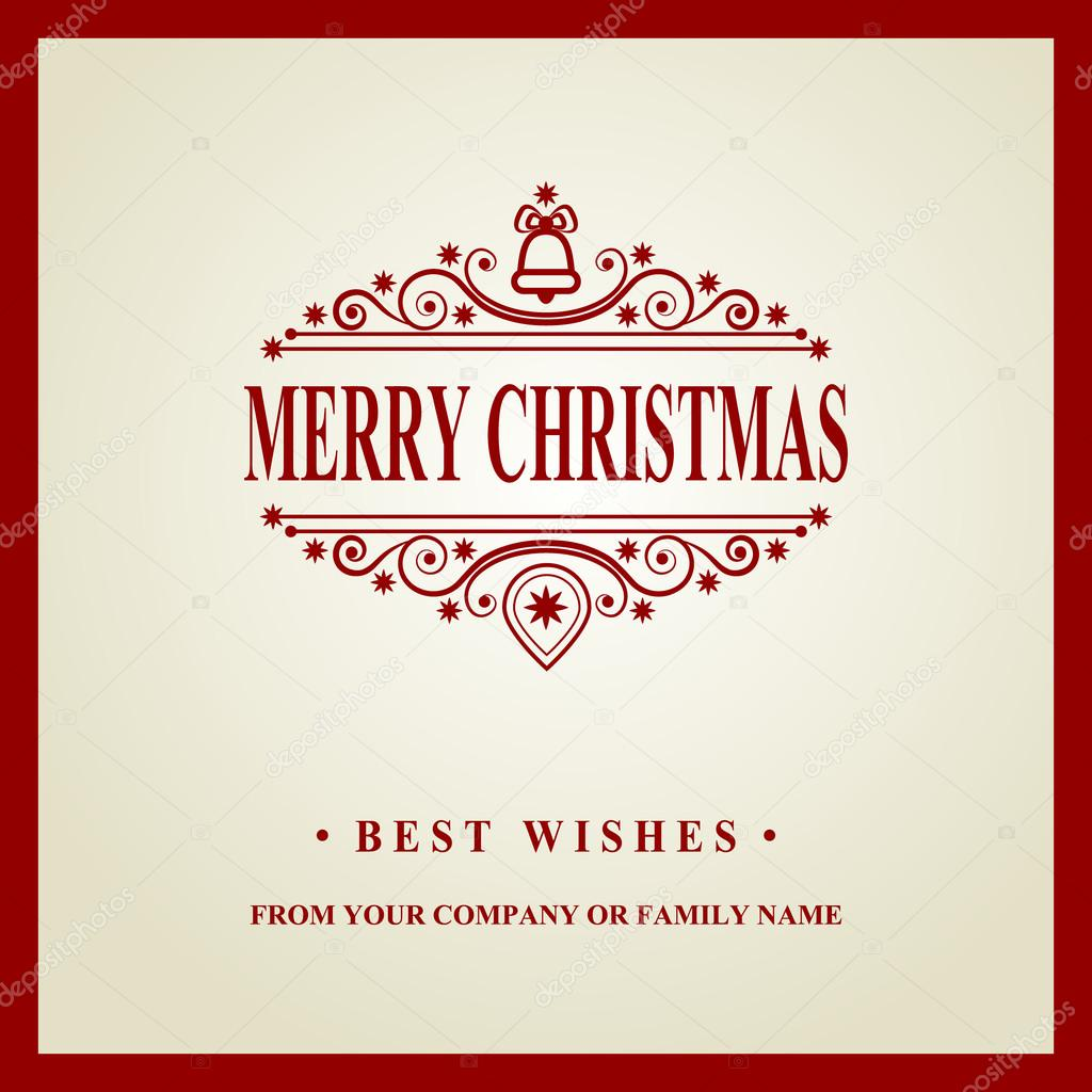 happy new year message merry christmas holidays wish greeting card invitation brochure