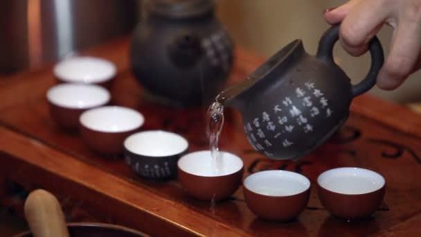 tradiční čínský čajový obřad