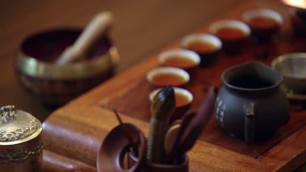 hagyományos kínai teaszertartás