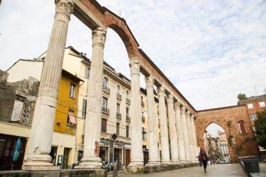 Milan columns of San Lorenzo