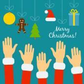 Kezében az emberek-ban Szent viseletek állítják, hogy a karácsony