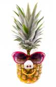 Photo Funny Pineapple with Sunglasses