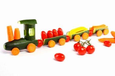 Cucumber train