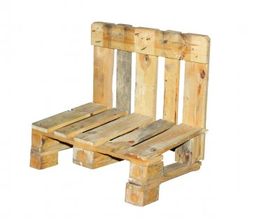 Chair built  from pallets