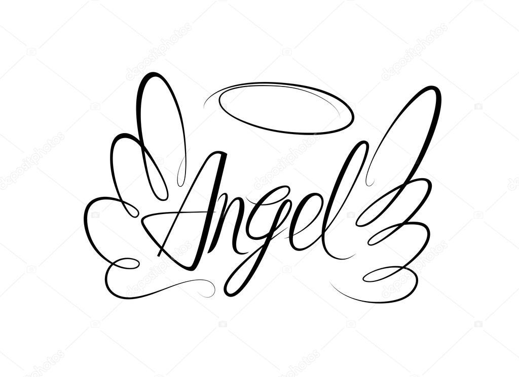 красивая надпись ангел картинка уверен, что