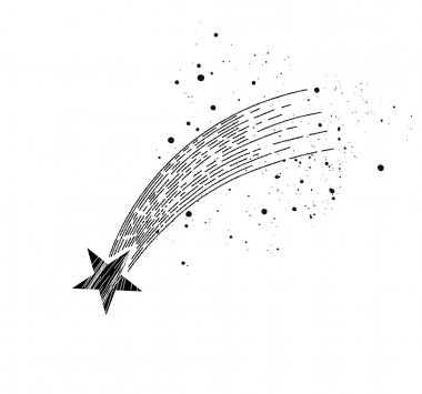 shooting star concept