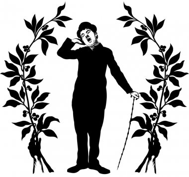 performing Charlie Chaplin