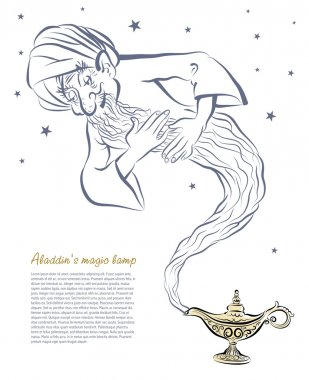 Alladin's magic lamp