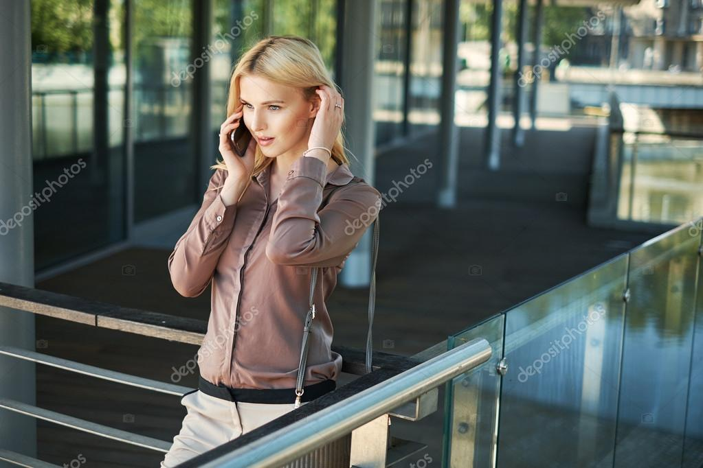 Portrait of a young businesslady
