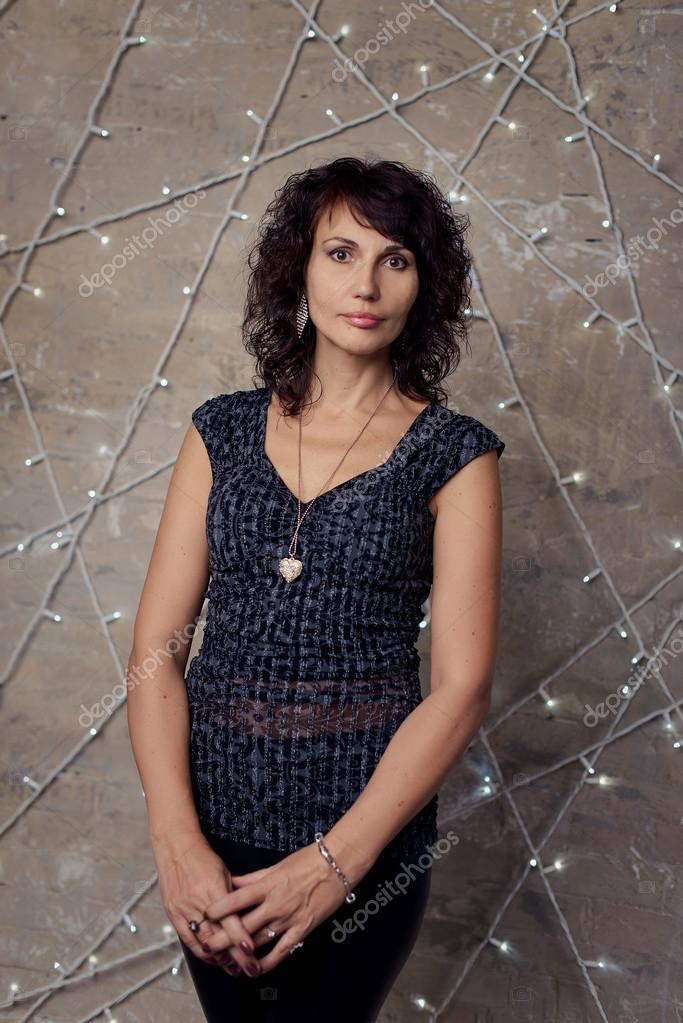 Beautiful 50-Year-Old Woman  Stock Photo  Myskina6 66827215-7085