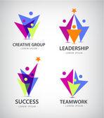 Fotografie Team, people logos
