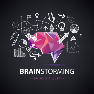 Creative brainstorm logo