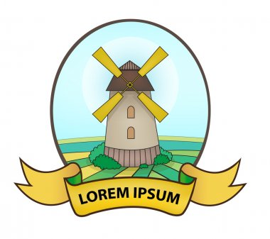Agricultural mill logo