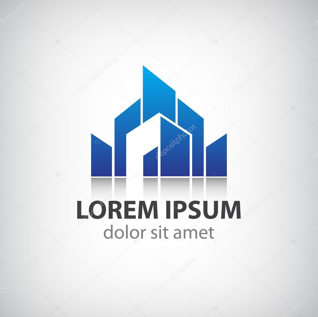 Building silhouette icon