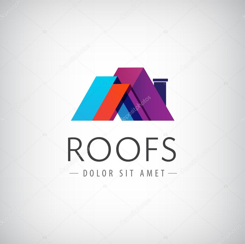 Roofs, house icon