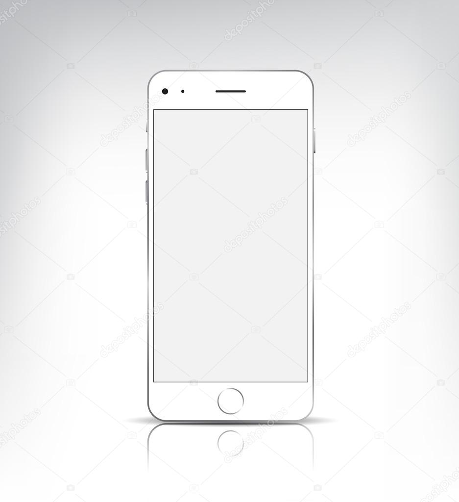 Smartphone mobile similar iphone