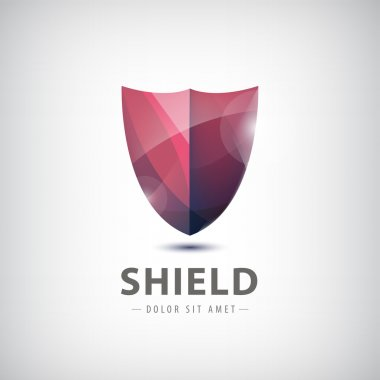 Shield icon, logo