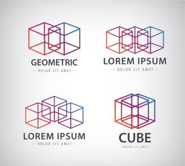 cube construction logos