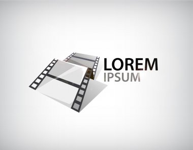 film strip, tape logo