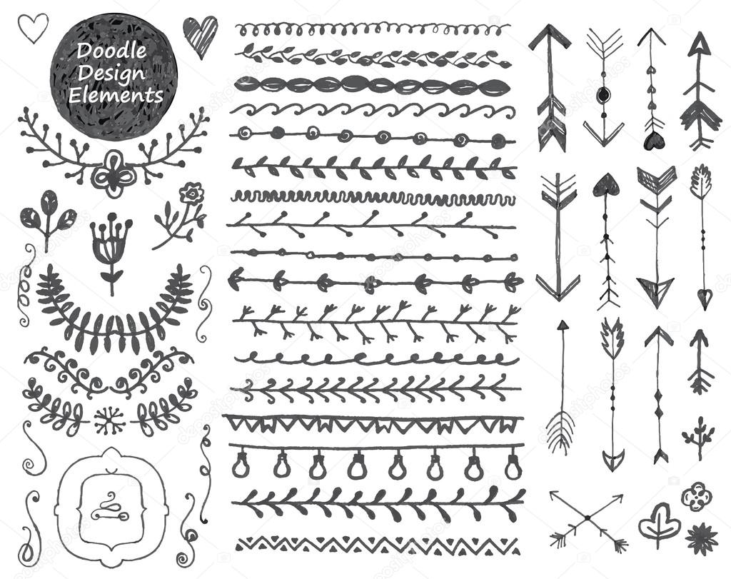 floral decor set