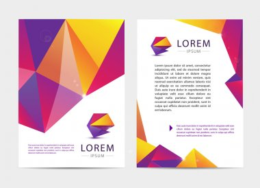 brochure and letterhead template design