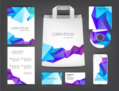abstract identity set design