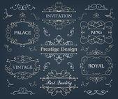 Fotografie calligraphic design elements