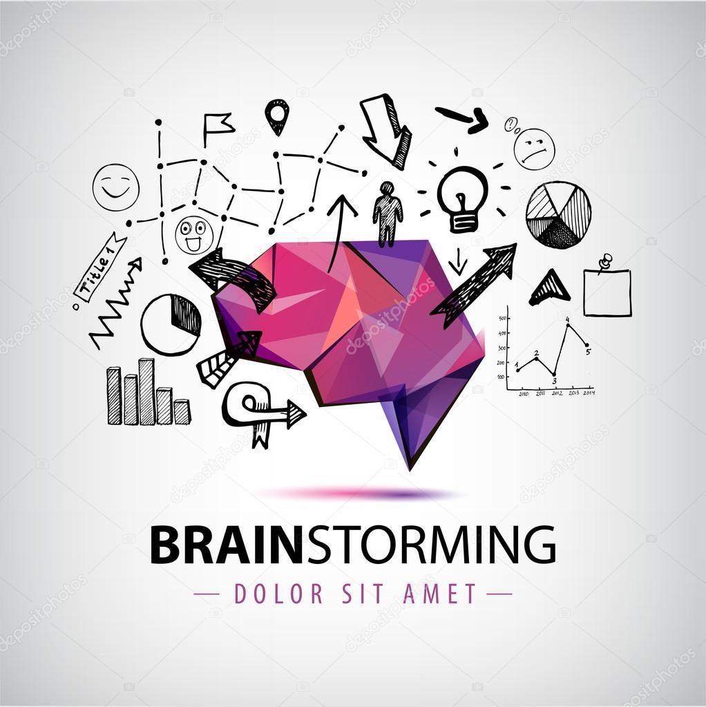 Cerveau origami cr ant de nouvelles id es image for Idee nouvelle entreprise