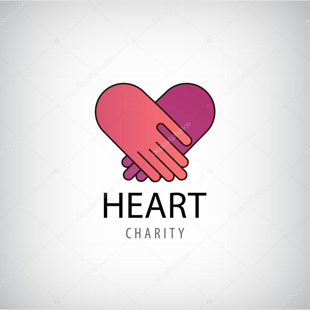 charity logo with hands wwwimgkidcom the image kid