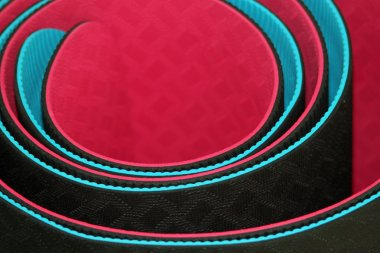 Background yoga mats