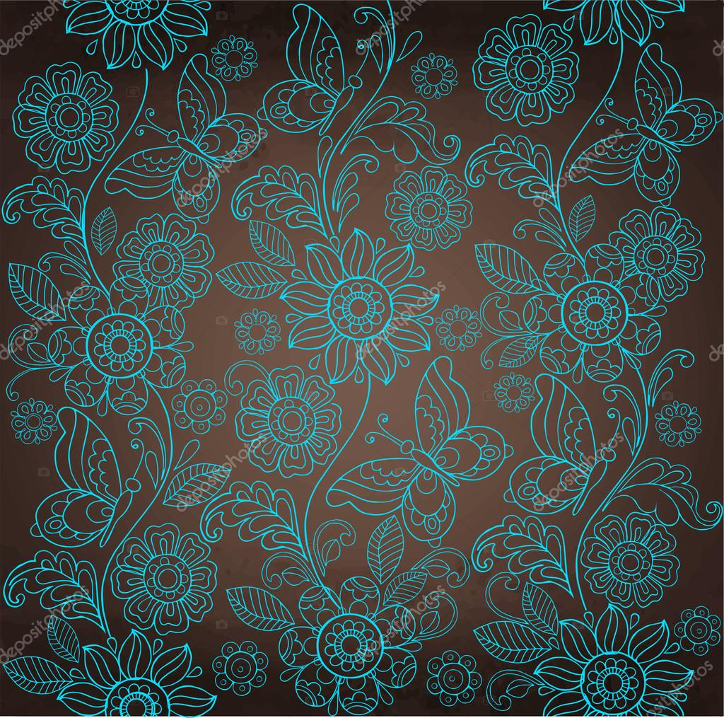 Wallpapers pattern fills web page backgrounds surface textures - Ornamental Flower Background Seamless Pattern For Your Design Wallpapers Pattern Fills Web Page Backgrounds Surface Textures Vector By Yeresko