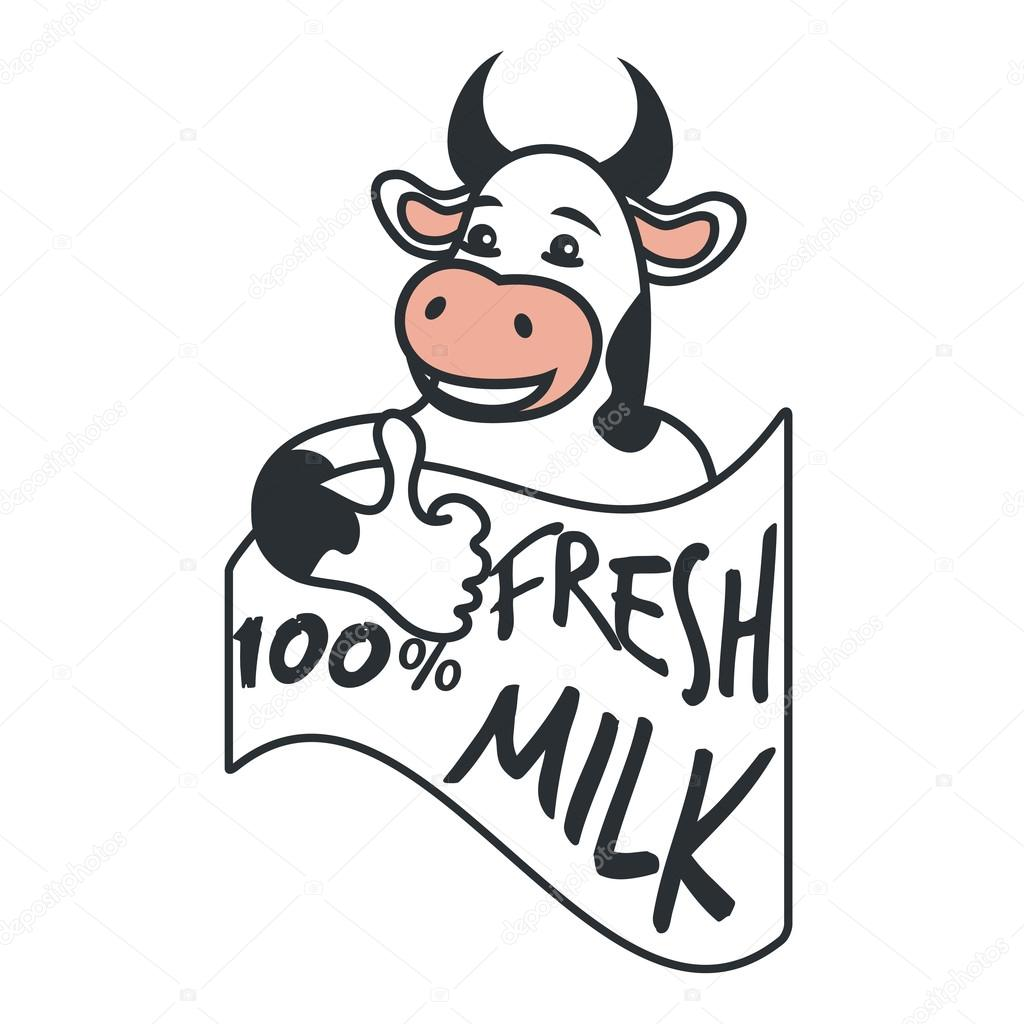 cow holding sign stock vectors royalty free cow holding sign