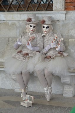 Venice. Carnival. Masks. Costumes