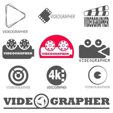 vector logos videographer