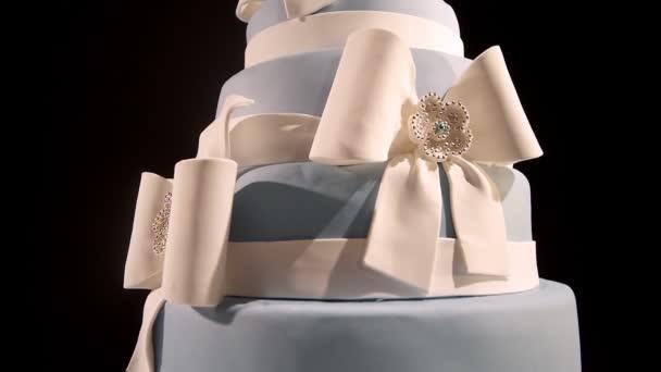 Gurmánské stupňová svatební dort na svatební hostinu