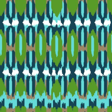ethnic aztec mexican seamless pattern